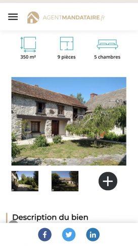 Agent-Mandataire.fr, maison de village, annonce immobilière