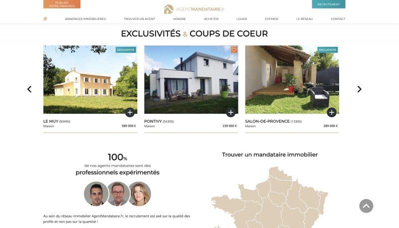 Agent-Mandataire.fr, annonces immobilières en France