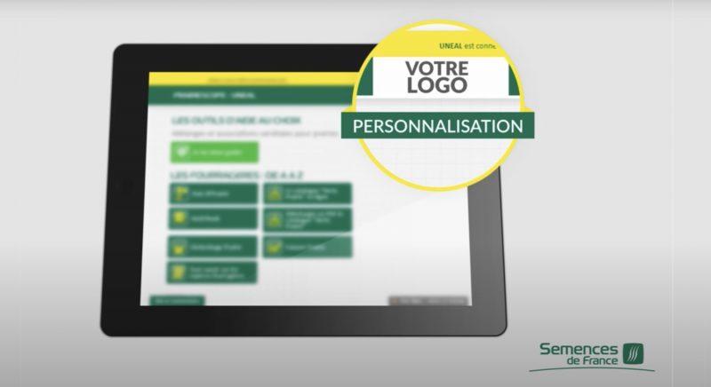 Prairiescope, personnalisation client