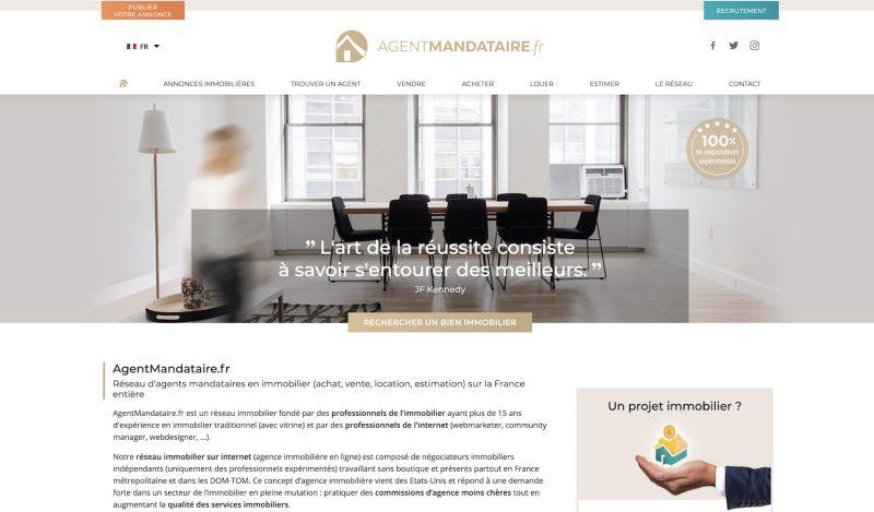 Agent-Mandataire.fr, le site des mandataires immobilier en France