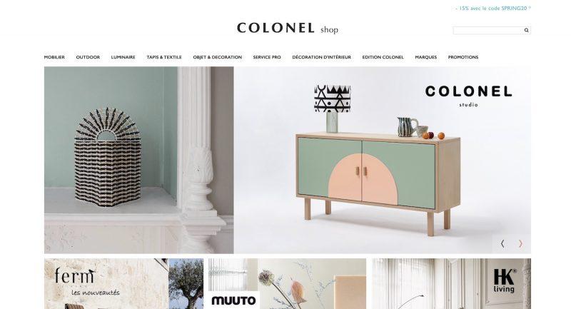 Gm-Créative présente Mon Colonel, vente de meubles contemporain à Paris